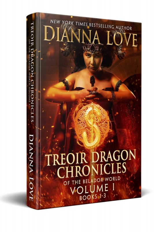 Treoir Dragon Chronicles: Vol I, Books 1-3