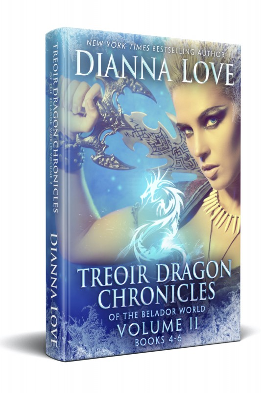 Treoir Dragon Chronicles Vol II, Books 4-6