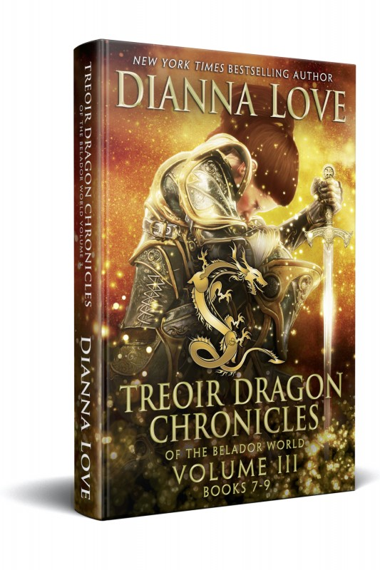 Treoir Dragon Chronicles: Vol III, Books 7-9