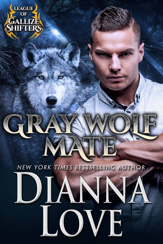 Gray Wolf Mate: The League Of Gallize Shifters Book 1